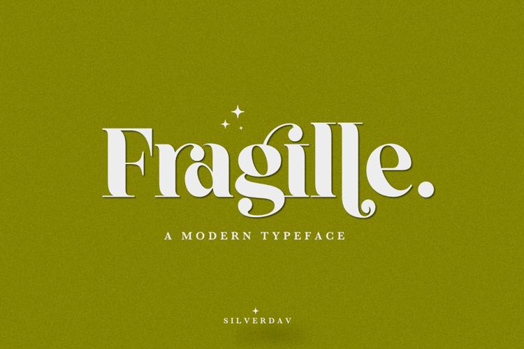 Fragille Fragille Font
