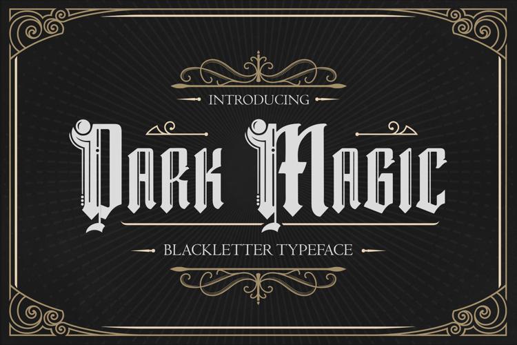 Dark Magic Font