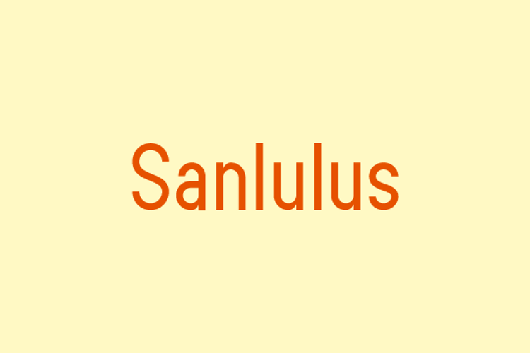 Sanlulus Font