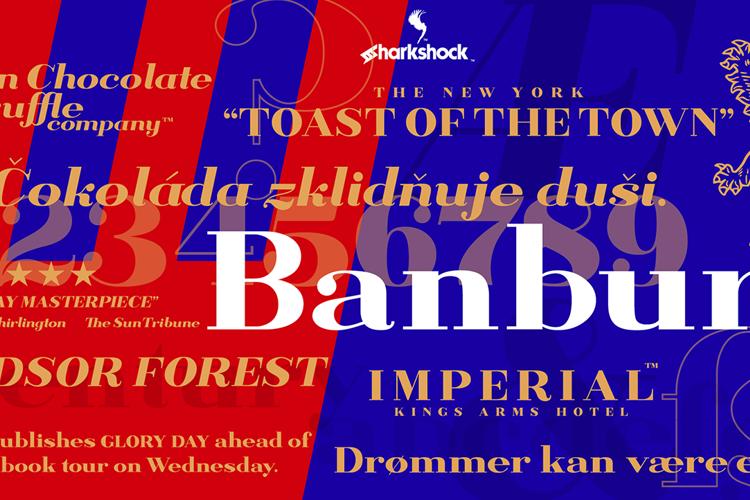 Banbury Font