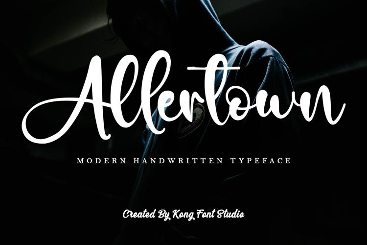 Allertown Font
