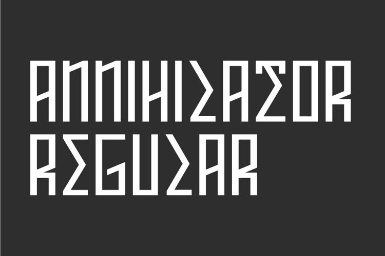 ANNIHILATOR Font