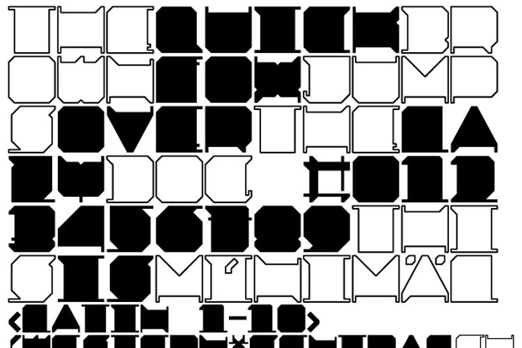 MINIMAL x Font
