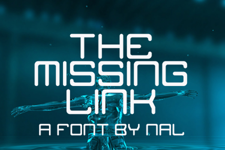 The Missing Link Font