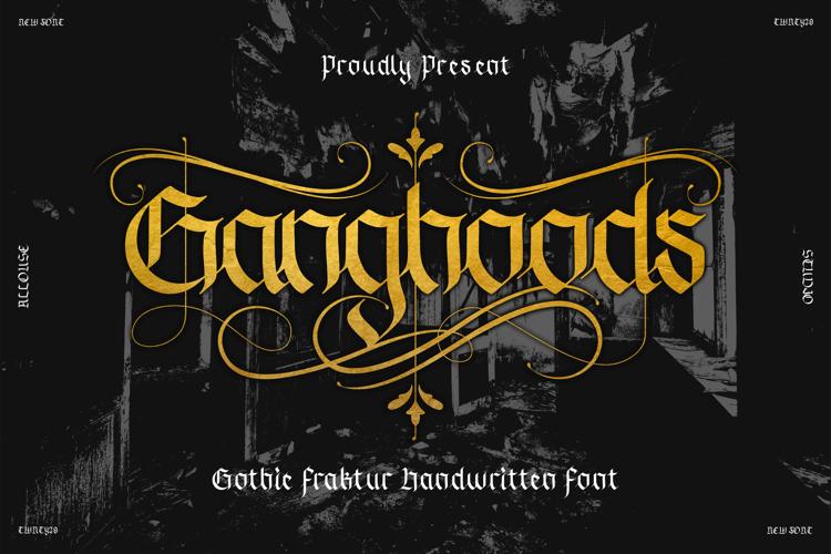 Ganghoods Version Font