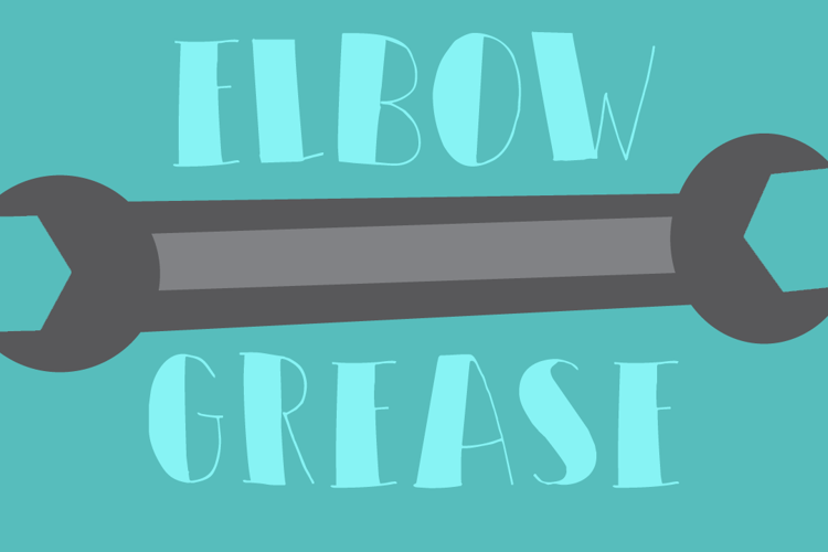 DK Elbow Grease Font