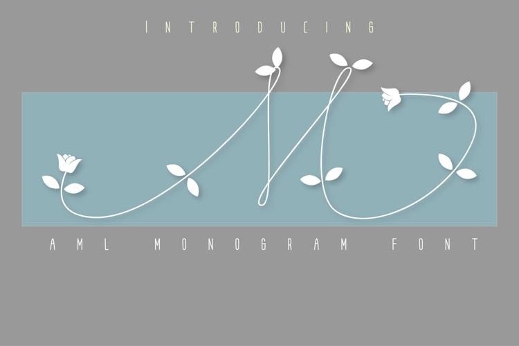 AML Monogram Font
