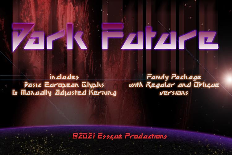 Dark Future Font