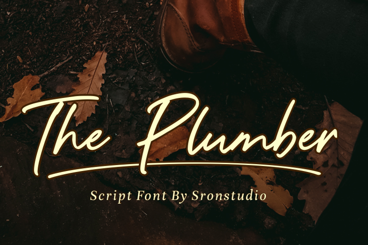 The Plumber Font