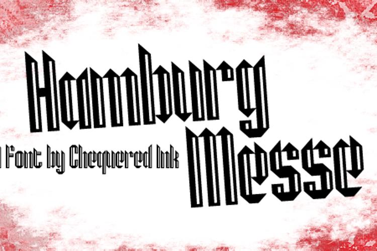 Hamburg Messe Font