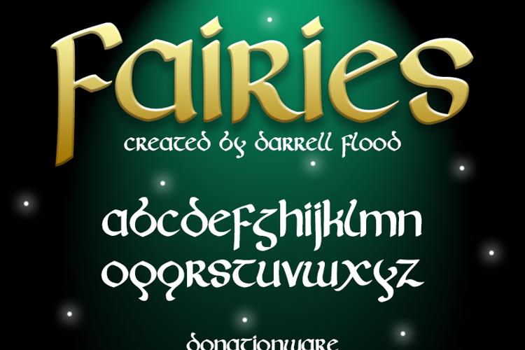 Fairies Font