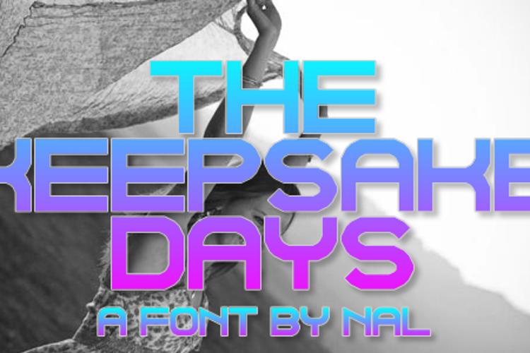 The Keepsake Days Font