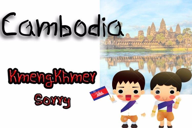 KmengKhmer_Sorry Font