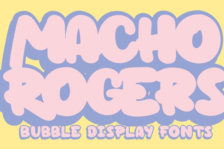 Macho Rogers Font