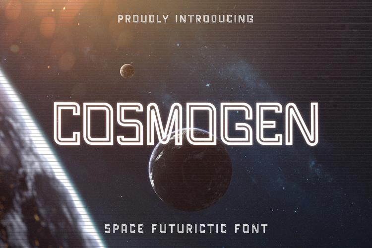 Cosmogen Trial Font