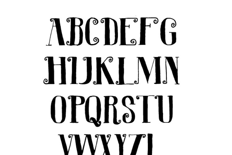 R. Squiddy Font