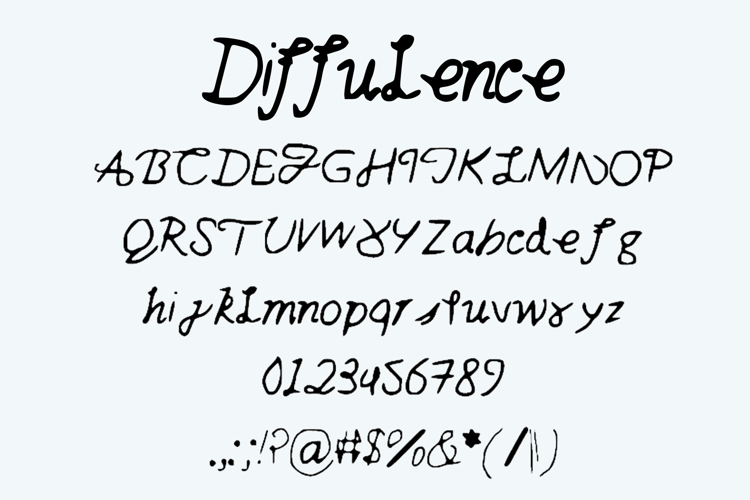 diffulence Font