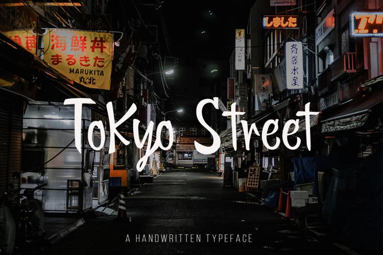 Tokyo Street Font