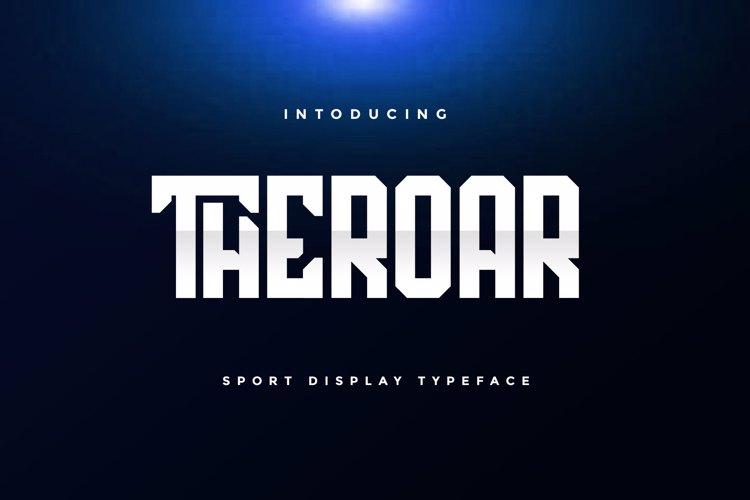 THEROAR Font