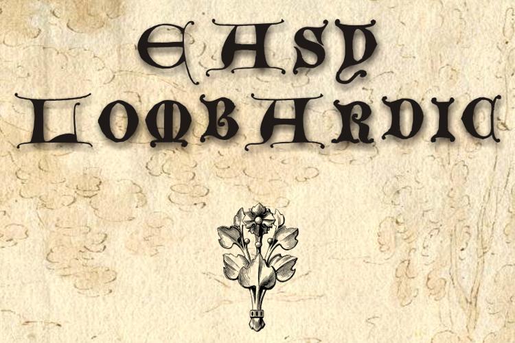 EasyLombardic Font