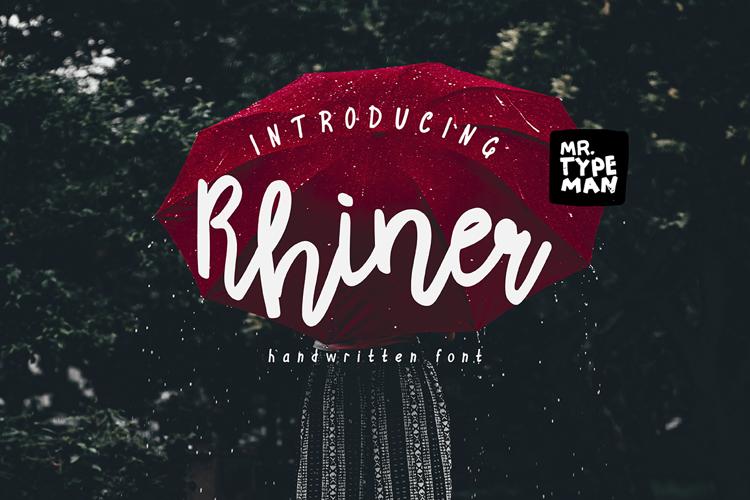 Rhiner Font