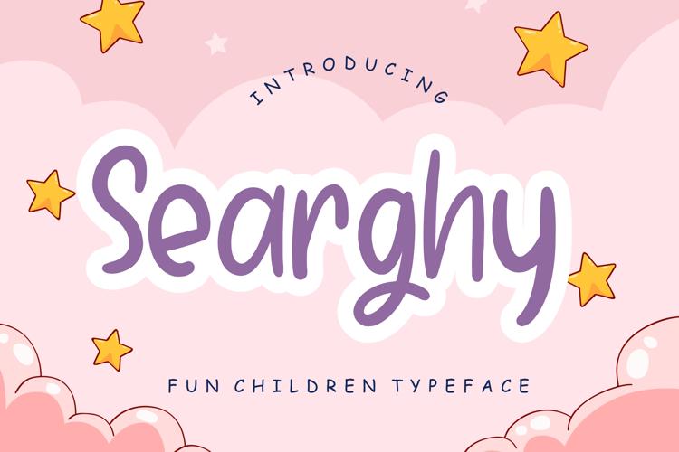 Searghy Font