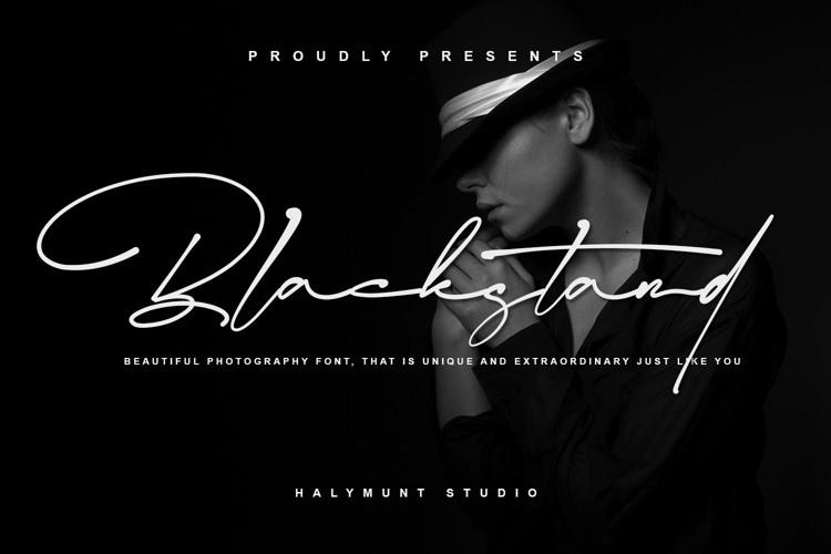 Blackstand Font