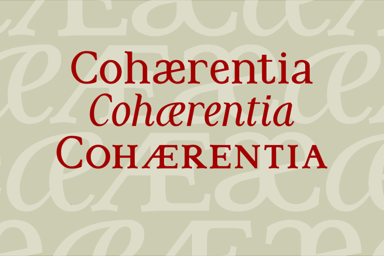 Cohaerentia Font