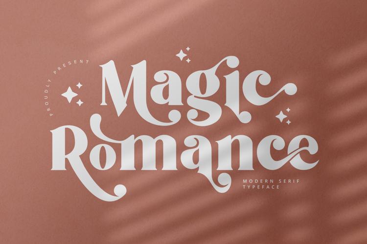Magic Romance Font