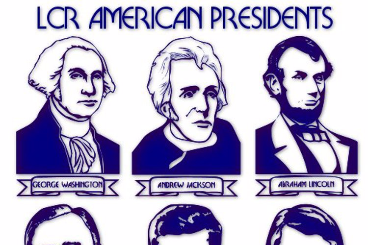 LCR American Presidents Font