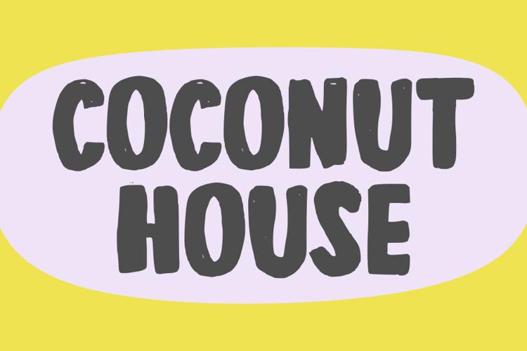 Coconut House Font
