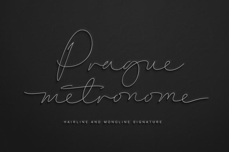 Prague Metronome Font