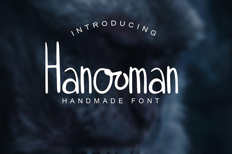 Hanooman Font