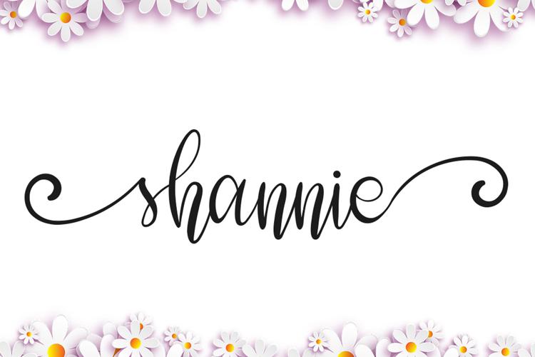 shannie Font
