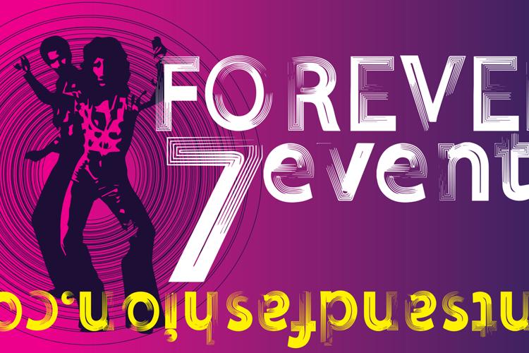 FOREVER 7entin demo Font