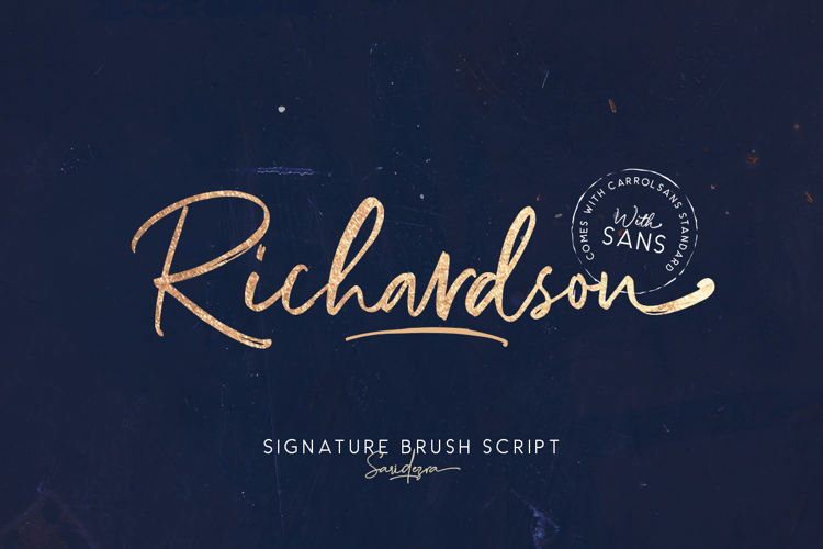 Richardson Script Font
