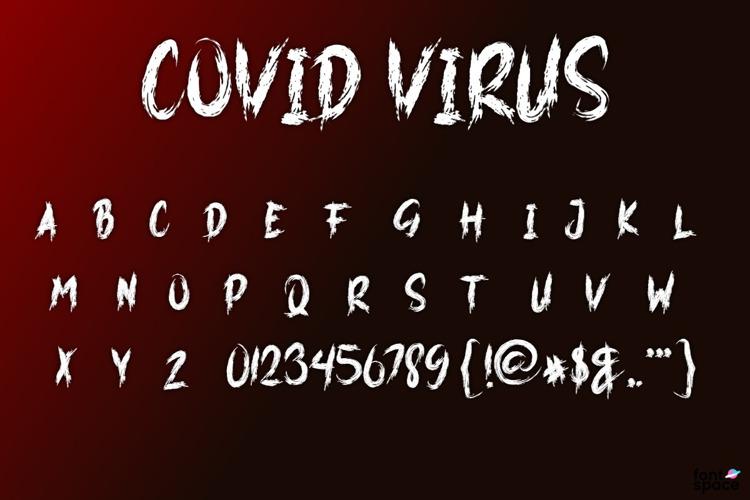 COVID VIRUS Font