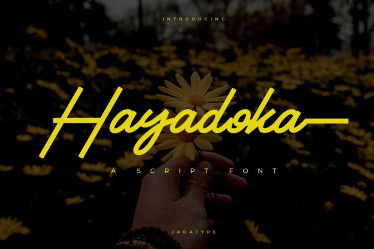 Hayadoka Font
