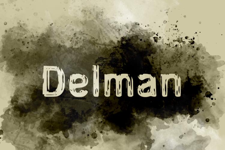 d Delman Font