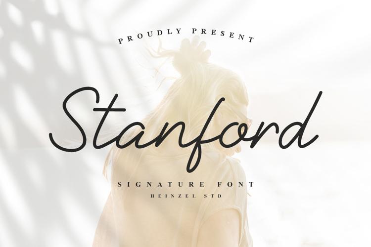 Stanford Signature Font