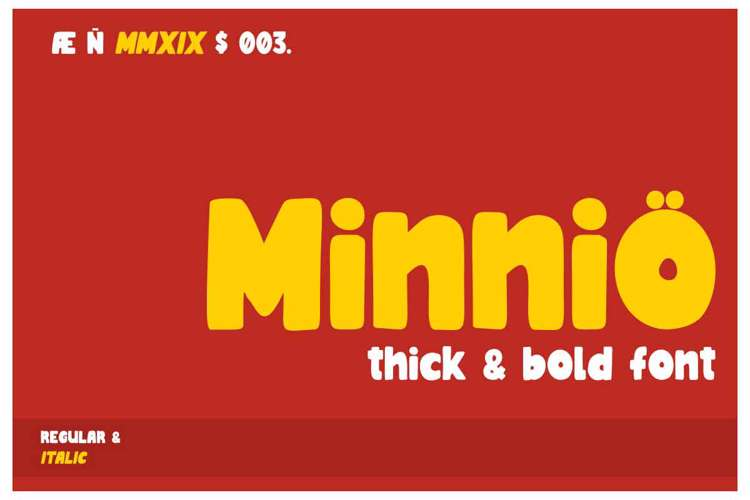 Minnio Font