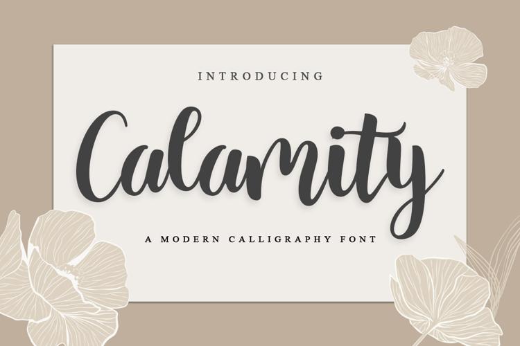Calamity Font