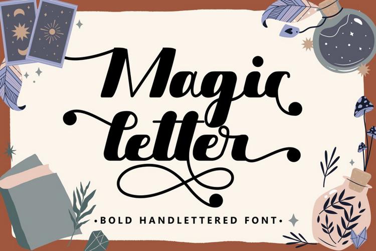 Magic Letter Font