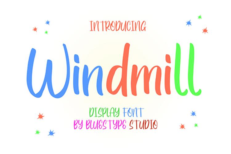 Windmill Font