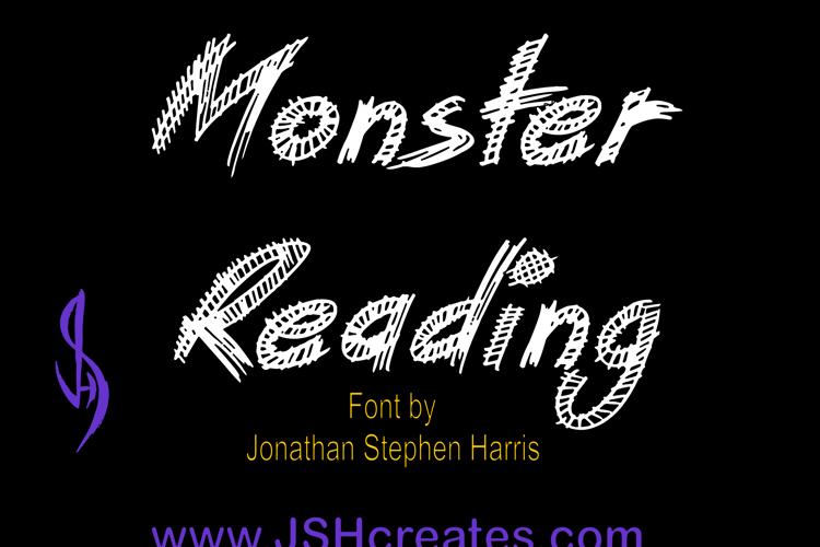 Monster Reading Font
