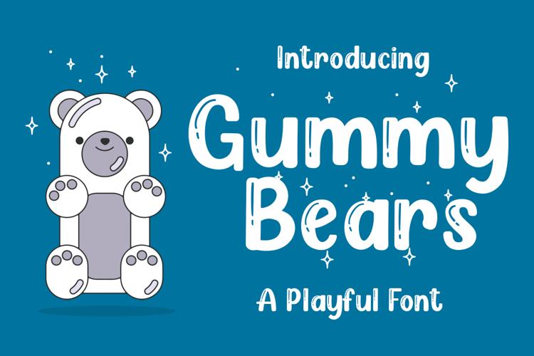 Gummy Bears Font