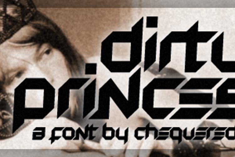 Dirty Princess Font