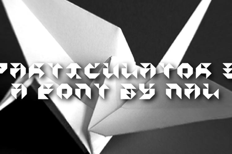 Particulator III Font