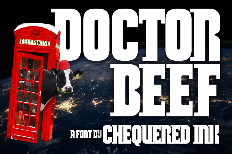 Doctor Beef Font