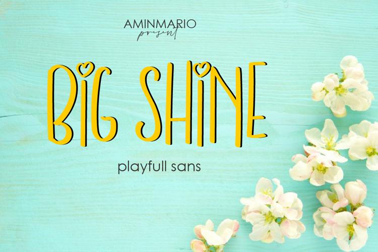 BIG SHINE Font